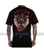 Sullen 3 Occhio Tigre SCM3110 Nuovo Manica Corta Grafico Tattoo Skull T-... - $28.66