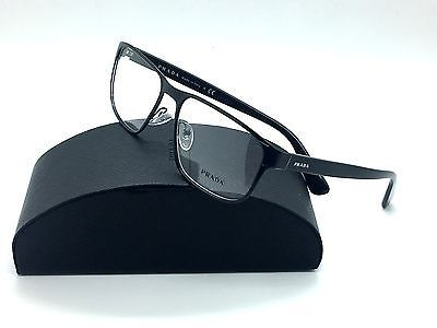 740833f3a7fb6 Prada Black Eyeglasses VPR 56S 7AX 1O1 55 mm and similar items