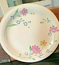 Vtg Sango Japan 8499 Fresh Flowers China Colorful Floral Dinner Plate 10... - $4.99
