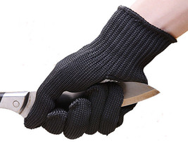 2pairs Black Working gloves safety cut resistant protective stainless st... - $29.89