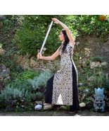 Warrior tunic Dress, Shamanic Shipibo tunic dress, goddess medieval dress - $53.00