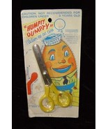 Humpty Dumpty Children's Scissors With Cut Out Figure Vintage Fairy Tale... - $24.99