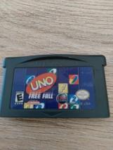 Nintendo Game Boy Advance GBA Uno Free Fall image 2