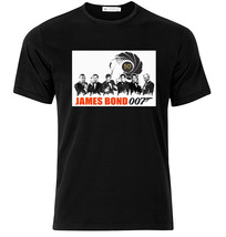 James Bond 50 Years  - Graphic Cotton T Shirt Short & Long Sleeve - $15.85+