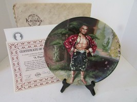 Knowles Collector Plate A Puzzlement The King & I Series First Issue Ltd Ed Coa - $12.82
