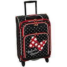 American Tourister Disney Minnie Mouse Red Bow Softside Spinner 21, Multi - $112.30
