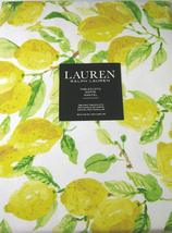 Ralph Lauren Lemons on White Tablecloth 60 x 104 Oblong - $46.00