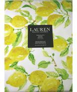 Ralph Lauren Lemons on White Tablecloth 60 x 104 Oblong - $46.00
