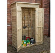 Wooden Garden Shed Large 3'x2' Tools Storage Container Patio Organizer S... - $276.28