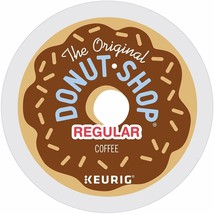 Original Donut Shop Keurig Single-Serve K-Cup Pods, Regular Medium Roast 72 ct - $43.35