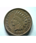 1893 INDIAN CENT PENNY CHOICE UNCIRCULATED / GEM BROWN CH. UNC. / GEM BR... - $165.00