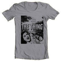 The Thing From Another World T Shirt 1951 vintage sci fi horror movie cotton tee image 1