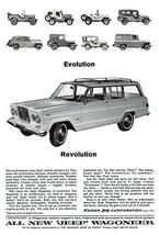 1964 Jeep Wagoneer - Promotional Advertising Poster - $9.99+