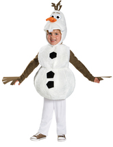Disney Frozen Olaf , Infant Costume , 12 to 18 MONTHS , Free Shipping - £35.38 GBP