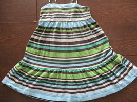 Baby Gap Girl's Toddler Size 4 Years 100% Cotton Spaghetti Strap Striped... - $20.80