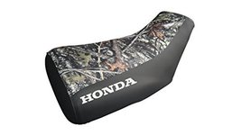 Honda Foreman TRX 400 400FW Seat Cover Camo And Black Honda Logo 1997 To... - $44.99