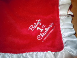 Rudolph Baby's First Christmas Security Blanket 2011 image 2