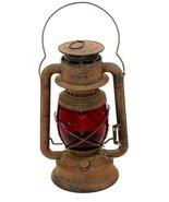 Antique 1914 – 1918 Dietz WIZARD RARE 1st Gen Oil Lantern Red Globe All ... - $427.50