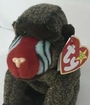 Ty Beanie Babies CHEEKS Baboon Monkey 1999 Retired - $54.44