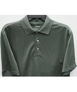 Grand Slam Performance Wicking Green Laurel Wreath Golf Shirt Mens S Small - $29.69