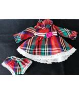 "Ideal 16"" VELVET LOOK AROUND Original  DRESS & panties NEW Fits other 1... - $8.91"