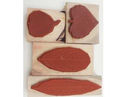 Stampin' Up! Autumn Rubber Mounted Wood Stamp Set image 2