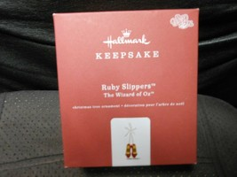 "Hallmark Keepsake ""Ruby Slippers"" 2018 Metal Ornament USED See Details  - $17.77"