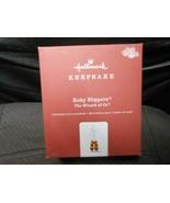 "Hallmark Keepsake ""Ruby Slippers"" 2018 Metal Ornament USED See Details  - $17.77"