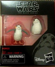 "Star Wars The Last Jedi Black Series Porg 6"" Scale 2 Pack Action Figure ... - $12.98"