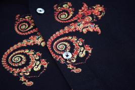 Men's Cotton Short Sleeve Casual Button Down Floral Pattern Dress Shirt image 10