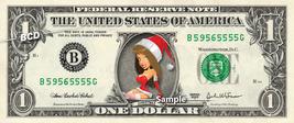 SEXY SANTA GIRL - Real Dollar Bill Christmas Cash Money Collectible Memo... - $8.88