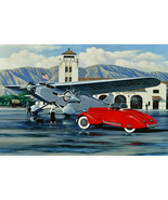 1934 Classics at the Air Terminal Metal Sign by Stan Stokes - $39.95