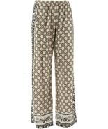 C Wonder Engineered Print Woven Pull-On Pants Khaki Multi 6 NEW A287460 - $18.78
