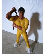 "BRUCE LEE Action Figure from the Estate of Bruce Lee 1983-1988  EUC  3.5"" - $29.45"