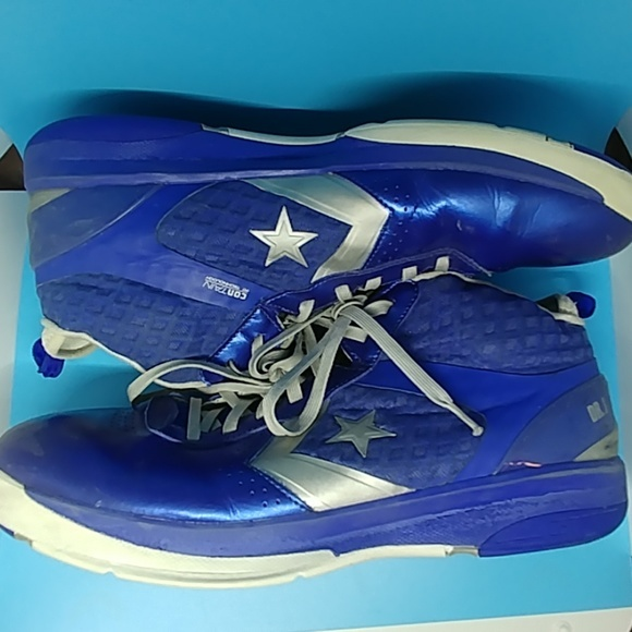 Converse Dr. J Basketball shoes blue size 16 image 2