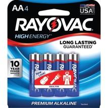 RAYOVAC 815-4J AA Alkaline Batteries (4 pk) - $20.42