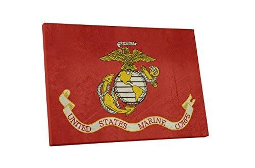 "Pingo World 0715Q81JNRM ""US Marine Corps Flag"" Gallery Wrapped Canvas Wall Art,  - $54.40"