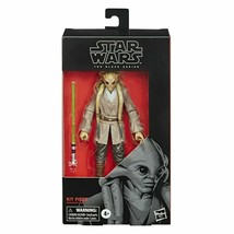 Star Wars The Black Series Kit Fisto Action Figure 6-Inch Scale Hasbro - $36.95