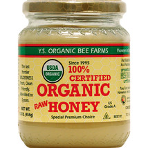 Y.S. Organics - Certified Organic Raw Honey - 16 oz - $14.99