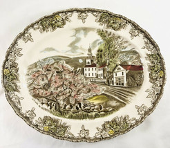 "Johnson Brothers Friendly Village 11 7/8"" Oval Serving Platter The Villa... - $29.69"