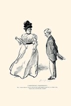 A Continuous Performance by Charles Dana Gibson - Art Print - $19.99+