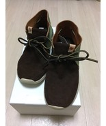 visvim HURON MOC-FOLK DK.BROWN US8 sneaker boots suede shoes  - $847.44