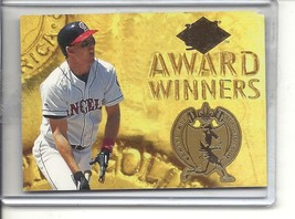 (b-32) 1994 Tim Salmon Fleer Ultra Award Winners Insert Card #24 of 25 - $1.50