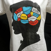 Doctor Who Phrenology Girly Large T-Shirt Rare New - $15.66