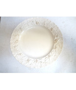 Wedgwood QUEENSWARE Small Plate - Cream on Cream - $15.00