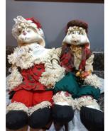HOUSE OF LLOYD CHRISTMAS AROUND THE WORLD GRANDPA LLOYD, GRANNIE FLO BUNNY - $18.00