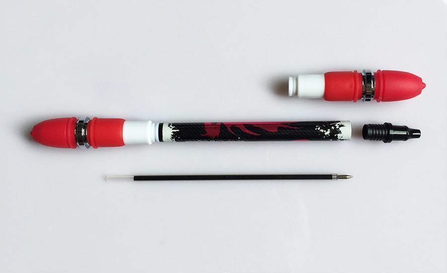 Spinning Pen Non Slip Twirling Trick Rolling Ballpoint Finger Playing Training image 9