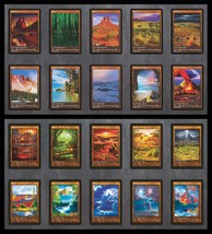 Set of All 20 Dual Lands (Versions 1 & 2) Custom Cards Alternate Art - $49.99