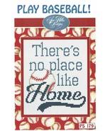 Play Baseball Post Stitches cross stitch chart Sue Hillis Design - $5.40