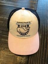 Vineyard Vines Genuine Seersucker 2018 Kentucky Derby Trucker Cap Logo H... - $20.79